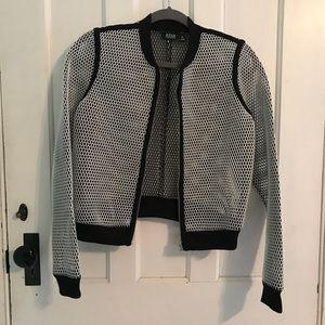 Jackets & Blazers - Mesh bomber jacket size XS